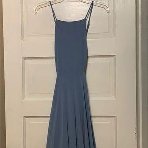 Lulu's / light blue long dress